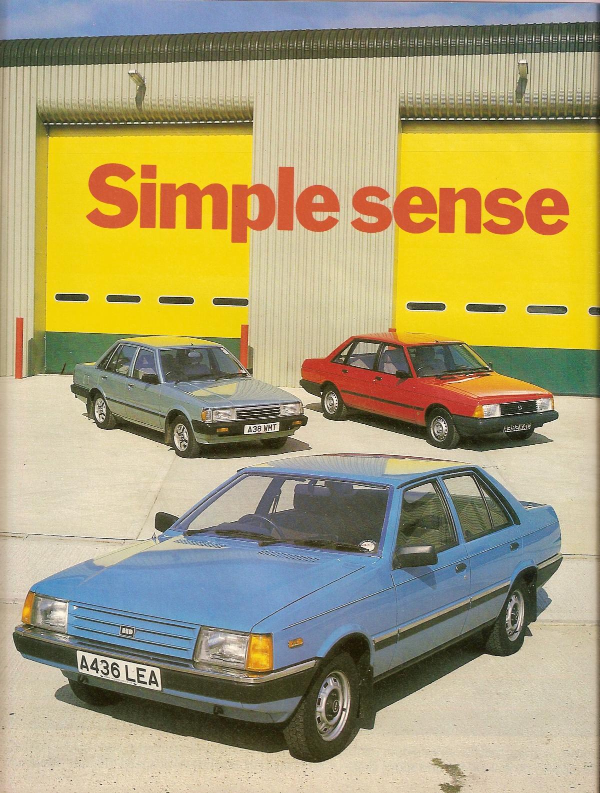 Hyundai Stellar Vs Daihatsu Charmant & Talbot Solara Test 1984.jpg