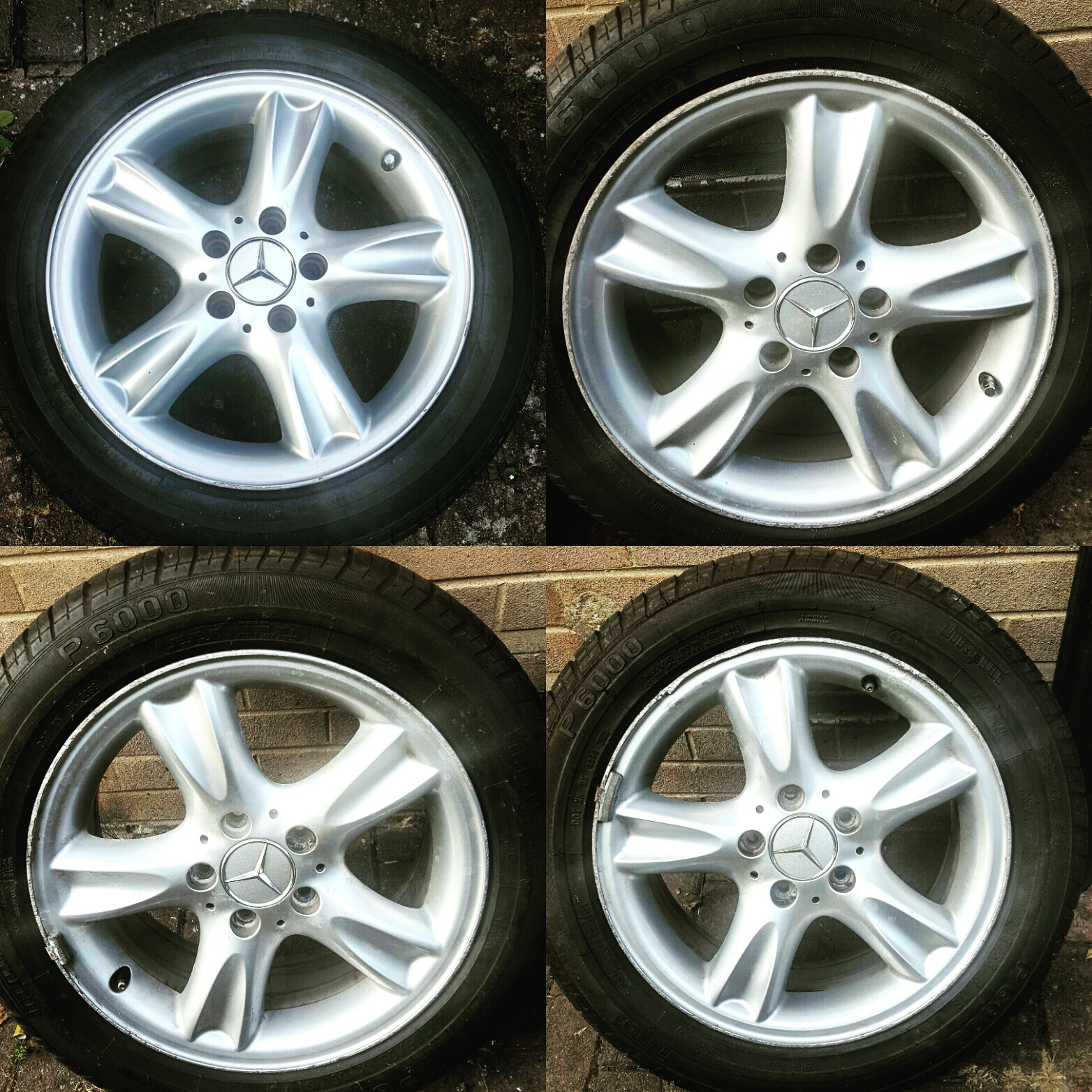 For Sale Genuine Mercedes Benz Staggered Wheels