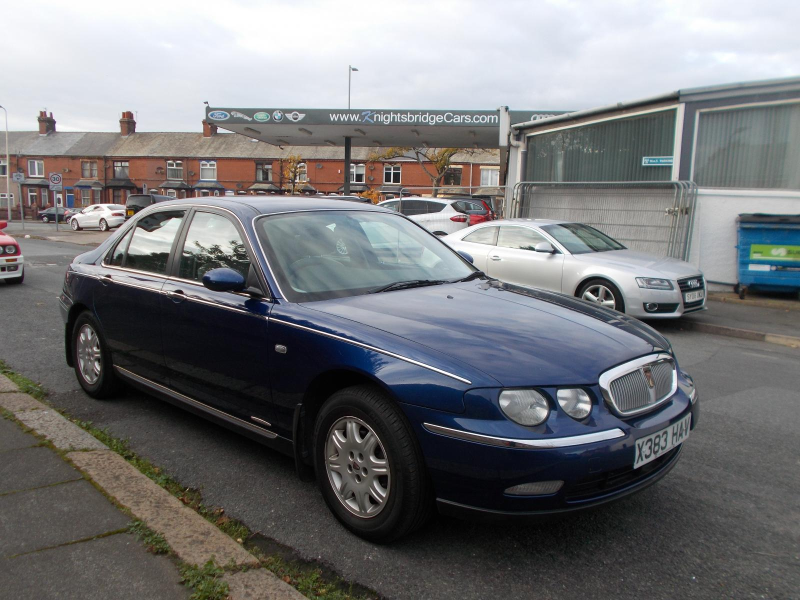 collected rover 75 dealer 39 launch 39 spec autoshite autoshite. Black Bedroom Furniture Sets. Home Design Ideas
