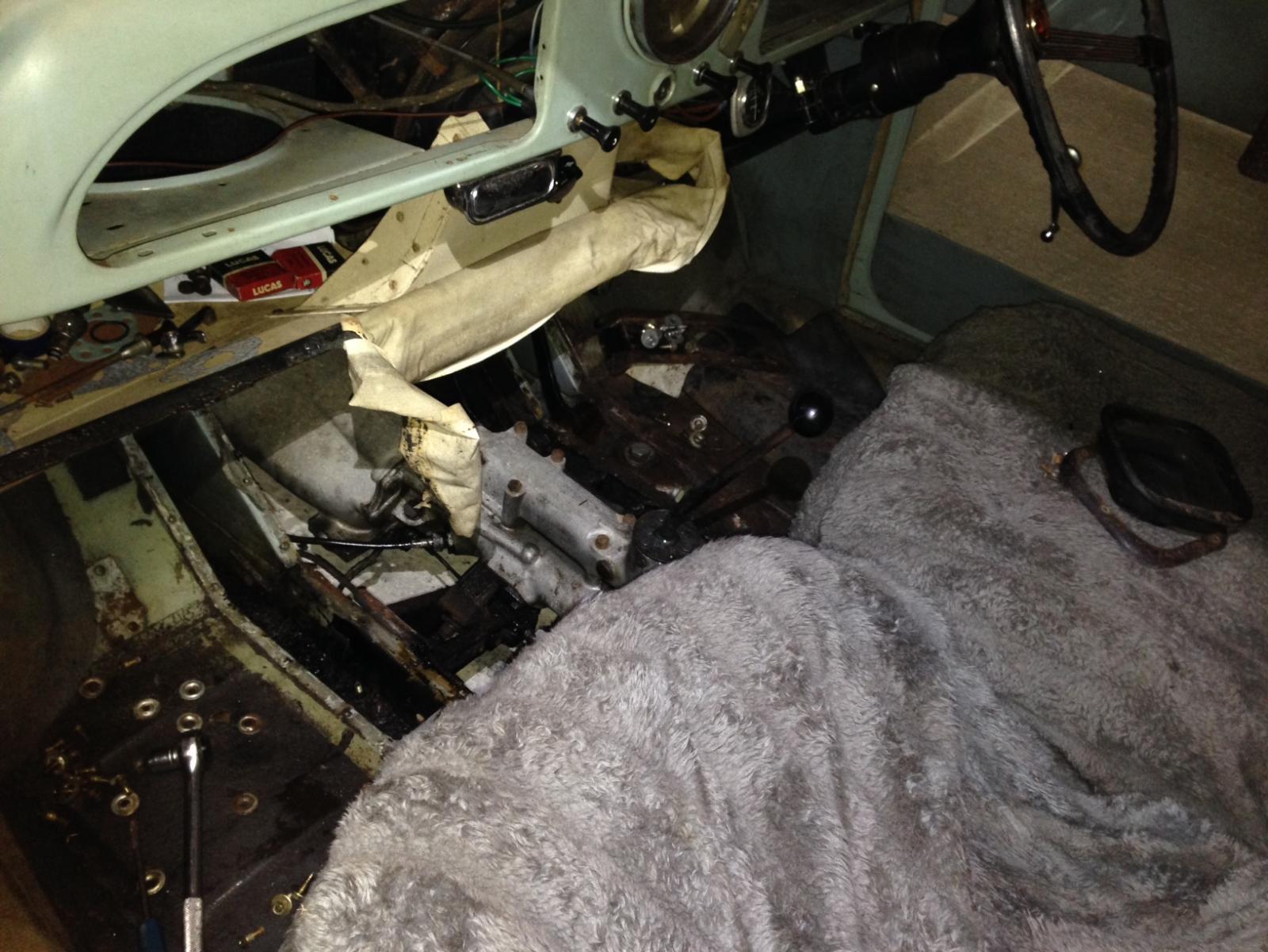 Project 1962 Morris Minor 1000 Page 4 Autoshite Daihatsu Yrv Turbo Wiring Diagram Img 3307