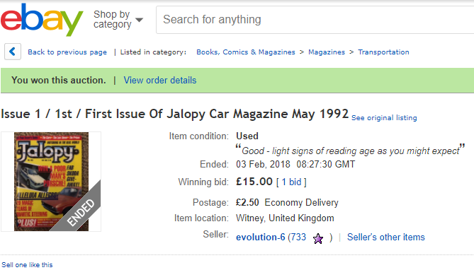 Jalopy No.1 - May 1992 - eBay win screenshot.png