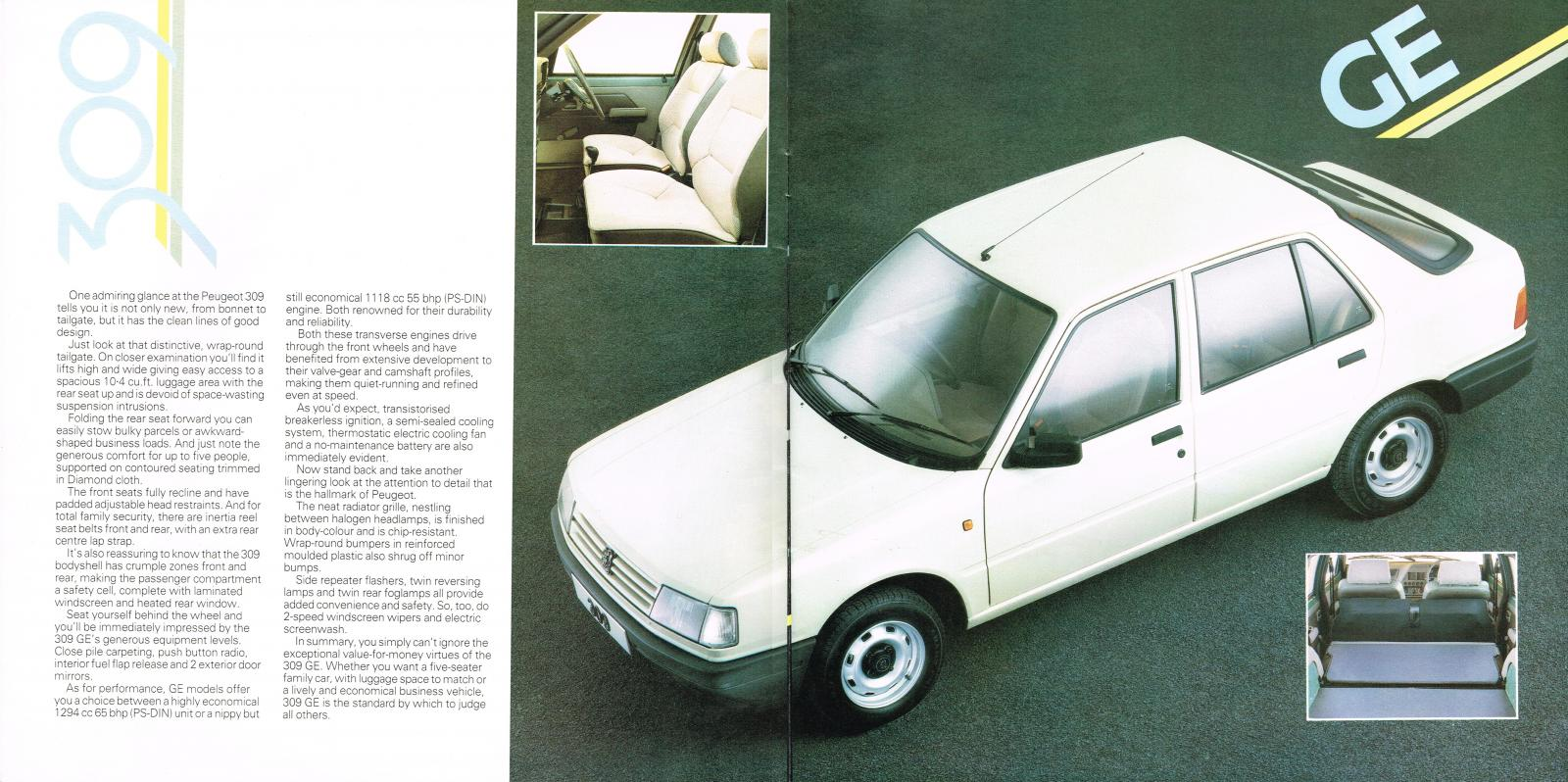 Peugeot 309 launch brochure 1986 10-11 GE.jpg