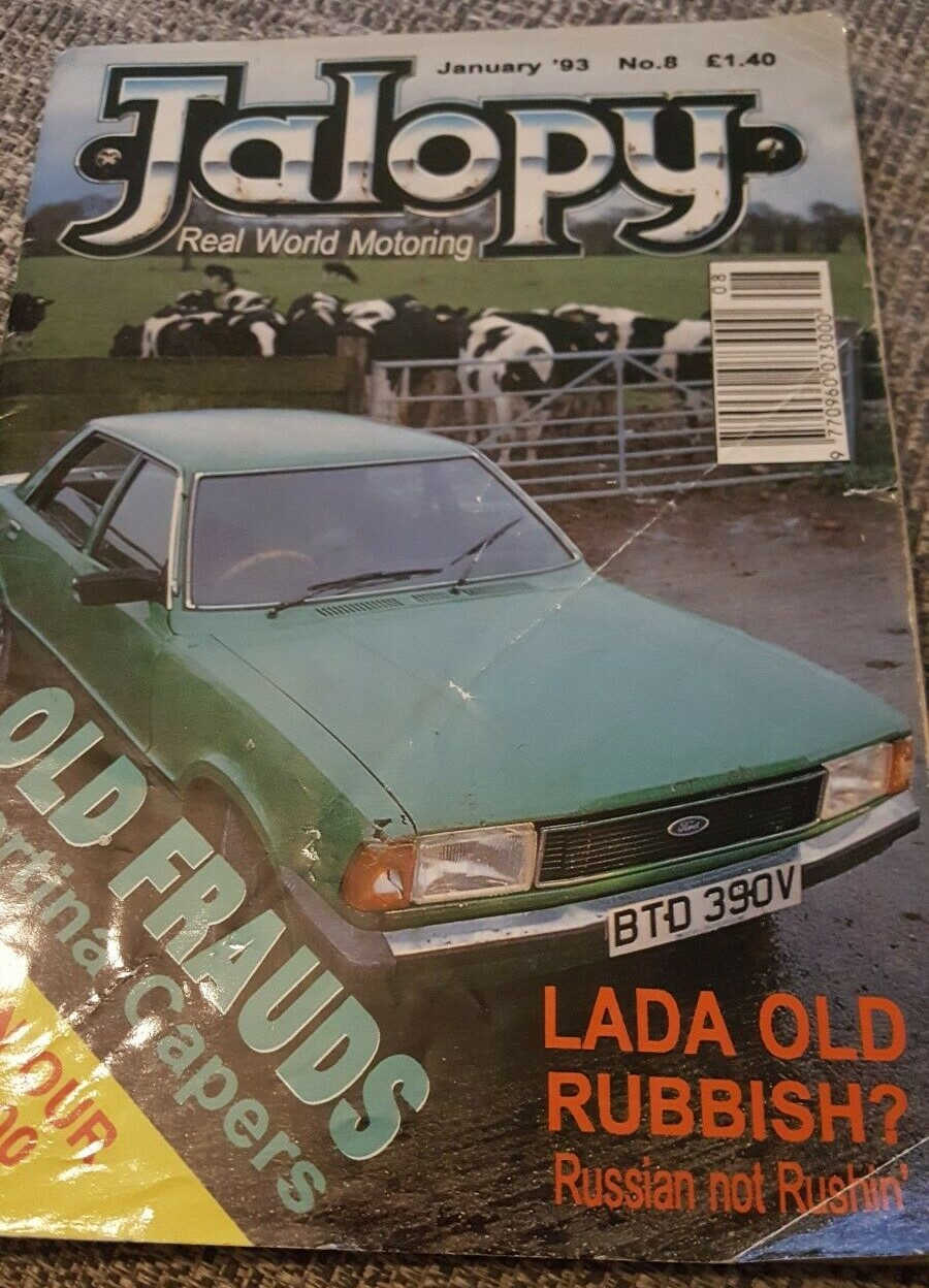 Jalopy #8 Cover - Jan 1993.jpg