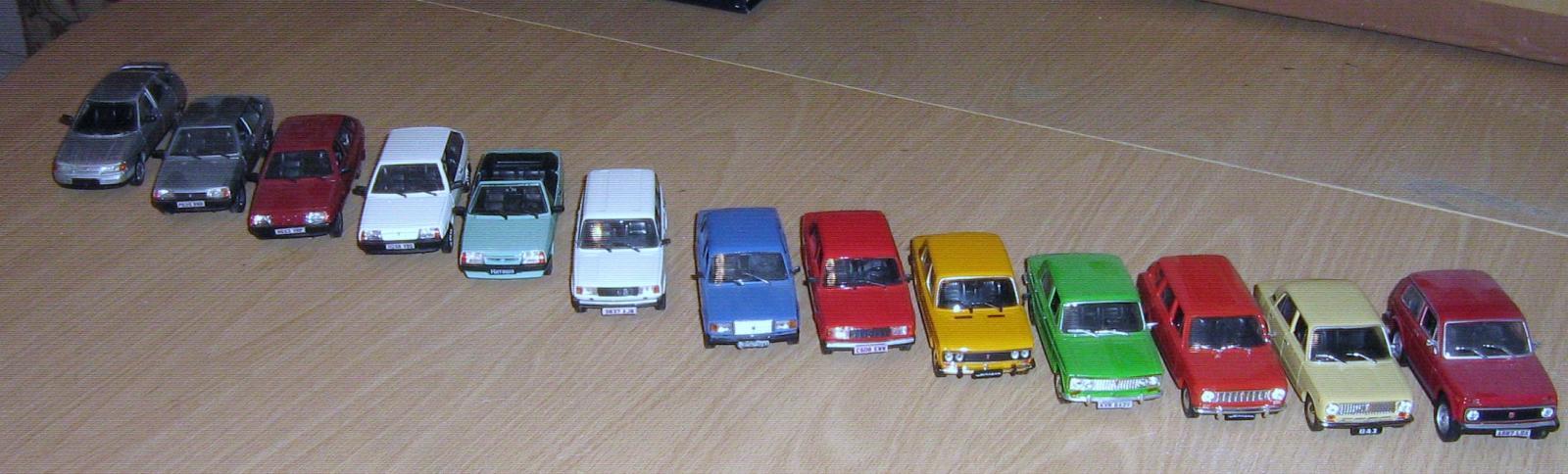Model Lada collection.JPG