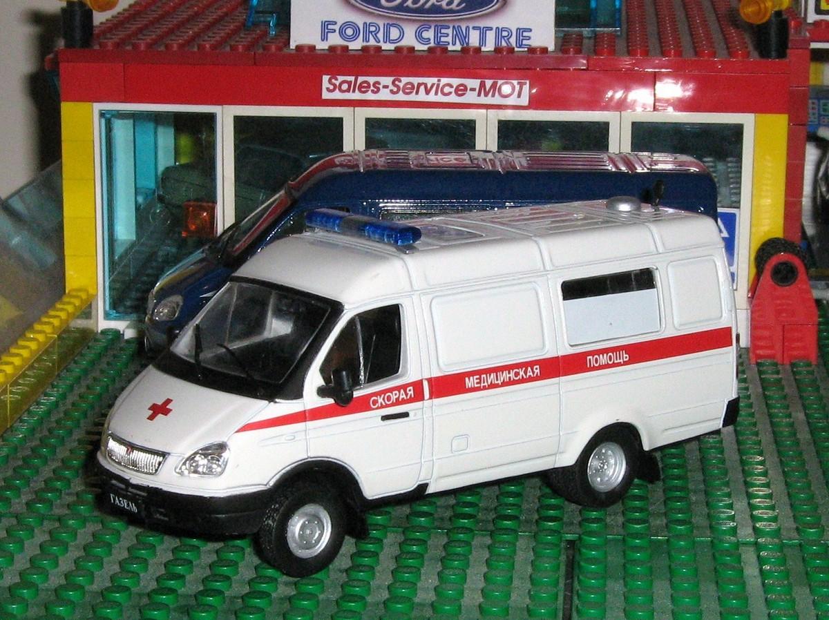 Gaz Gazelle ambulance frt.JPG