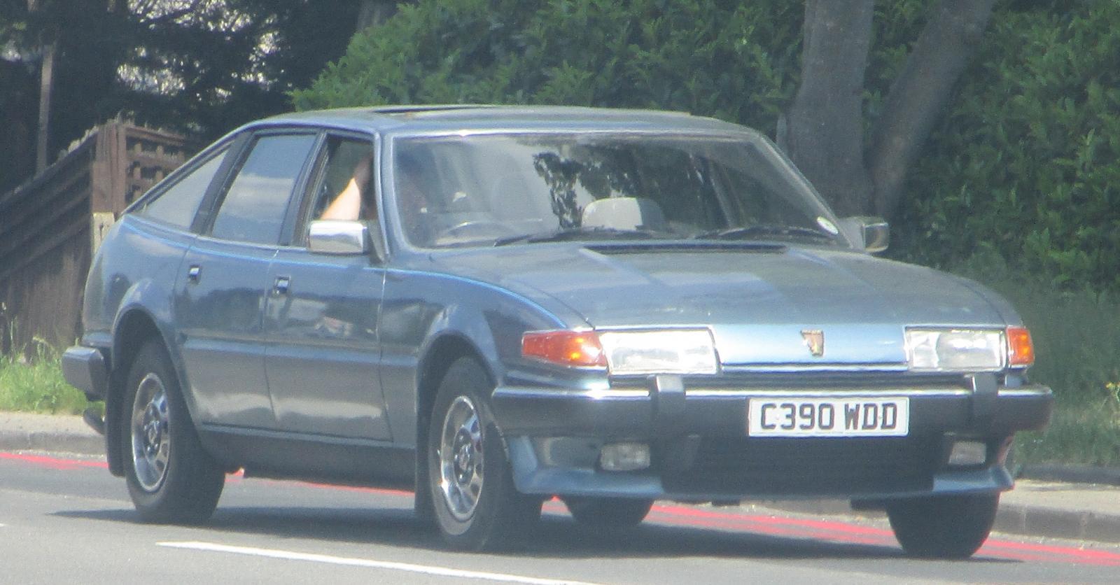 1986 Rover 2000 auto Feb 17.JPG