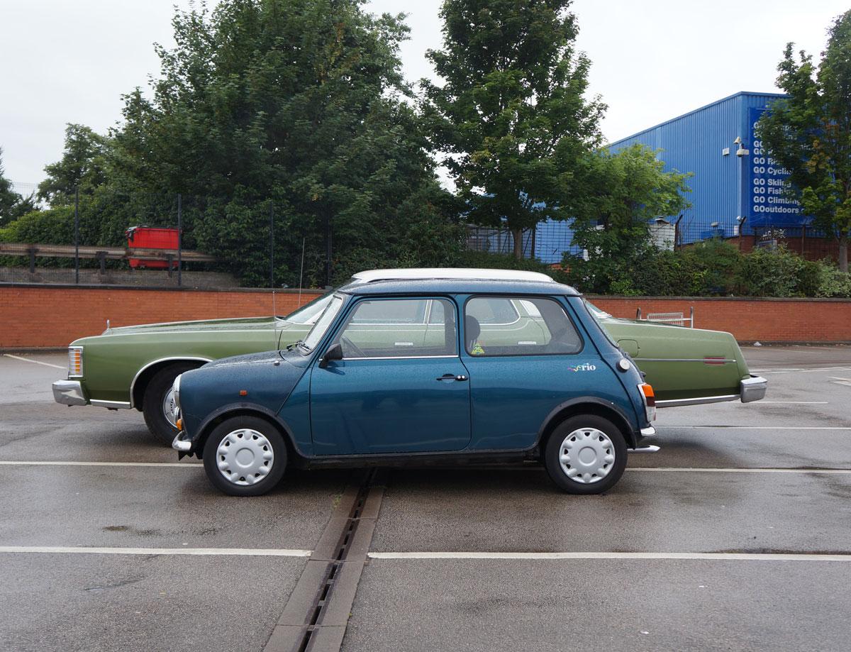 The green lean machine 1974 ford ltd leaving the ggg for Panda sisley wikipedia