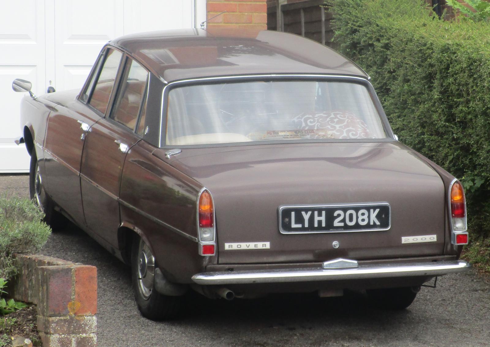 1972 Rover 2000 SC auto Nov 09.JPG