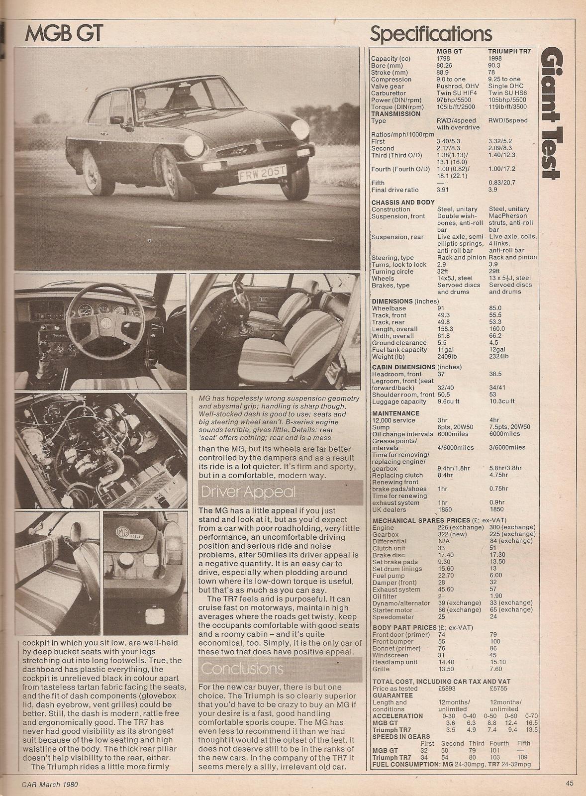 shite road test scans austin ambassador hls rover 2000 sd1 saab 900 gls 1982 page 6. Black Bedroom Furniture Sets. Home Design Ideas