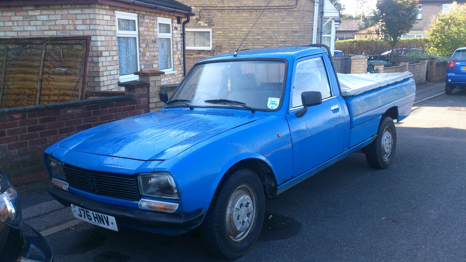 Spotted For Sale - Peugeot 504 Pick Up, St Ives - AutoShite - Autoshite